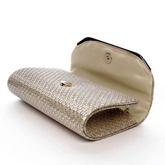 Michelle Moon Společenská třpytivá kabelka Kora, zlatá