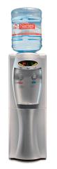 D+K DRMELA DK2V208DS - Výdejník barelové vody s digitálním displejem, stříbrný