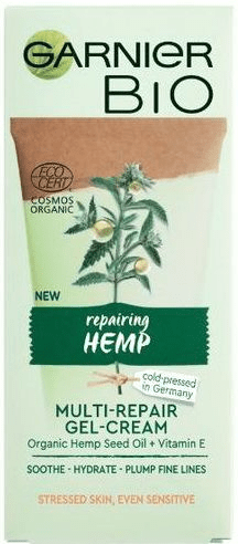 Garnier Bio Hemp obnovitvena krema, 50 ml