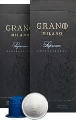 Grano Milano Káva SUPREMO (10 kávové kapsle)