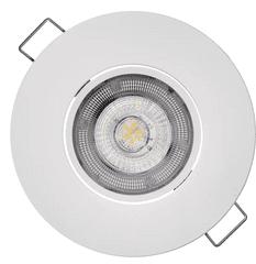 EMOS lampa punktowa LED Exclusive 5W, ciepła biel, biały