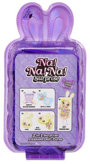 Na! Na! Na! Surprise Bábika v plyšovom zvieratku 2v1, séria 4 - Bebe Groovy