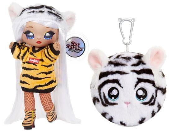 Na! Na! Na! Surprise lalka z pluszowym zwierzakiem 2w1, seria 4 - Bianca Bengal
