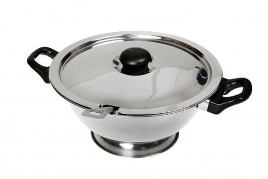 Makro Mísa na polévku 25cm 2l nerez