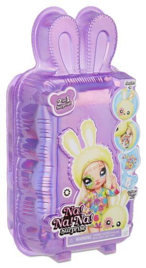 Na! Na! Na! Surprise lalka z pluszowym zwierzakiem 2w1, seria 4 - Juli Joyful