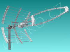 GoSAT Anténa GoSat GSA-38 LTE, DVB-T/T2, 16.5dB