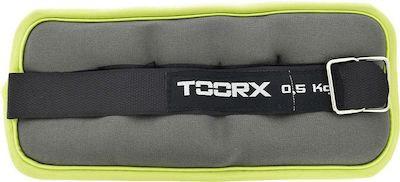 TOORX manšetna utež za zapestje ali gležnje, 2 x 0,5 kg