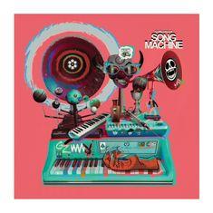 Gorillaz: Gorillaz Presents Song Machine, Season 1 (2LP+CD) - CD+LP