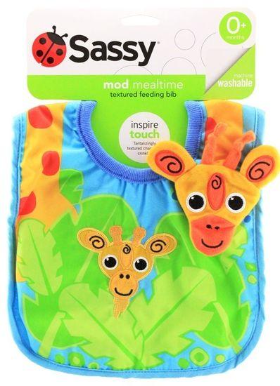 Sassy Chinstrap - Žirafa, 0-2r