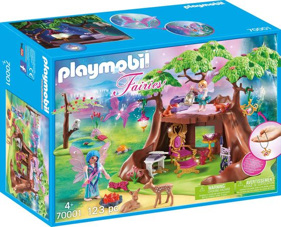 Playmobil gozdna vilinska hiška (70001)