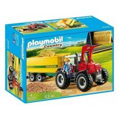 Playmobil traktor s priikolico (70131)