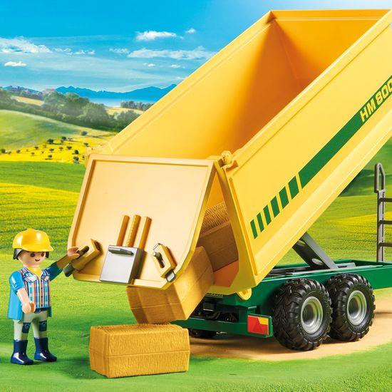 Playmobil traktor s prikolicom (70131)