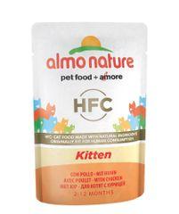 Almo Nature Classic Cuisine WET CAT koťata 24x55 g