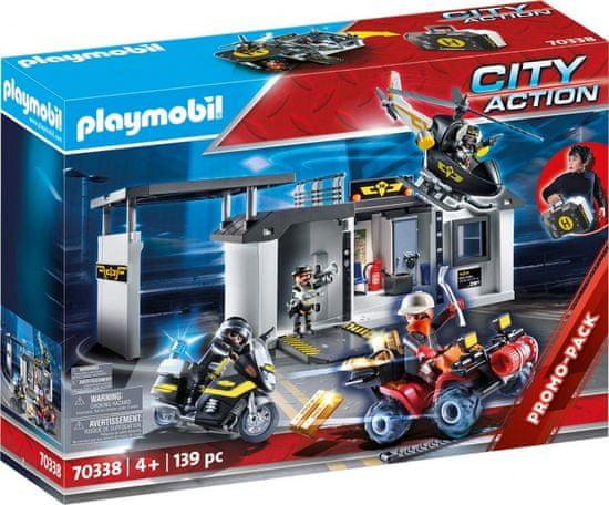 Playmobil prijenosno sjedište taktičke jedinice (70338)