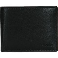 Lagen Pánská kožená peněženka W-8053 BLK