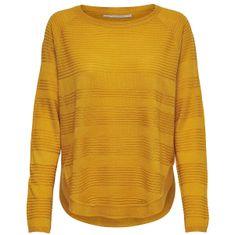 ONLY Dámský svetr ONLCAVIAR 15141866 Golden Yellow (Velikost XS)