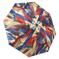 Blooming Brollies Damski składany parasol Franz Marc Stajewicz składany styl GAFMST