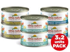 Almo Nature HFC Cat Multipack s rybou 6x70 g