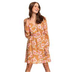 Roxy Ženska obleka Heatin Up Chipmunk Surfin Love ERJWD03357-CMW6 (Velikost XS)
