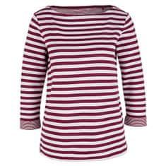 s.Oliver Ženska majica 04.899.39.5350 .49X0 Jewel Red Knit Dessin (Velikost 34)