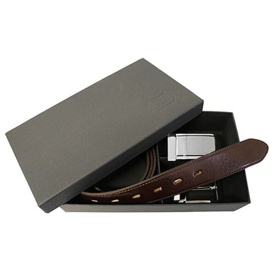 Penny Belts Darilni darilni komplet 506 35-020-22 in 4PS rjave barve