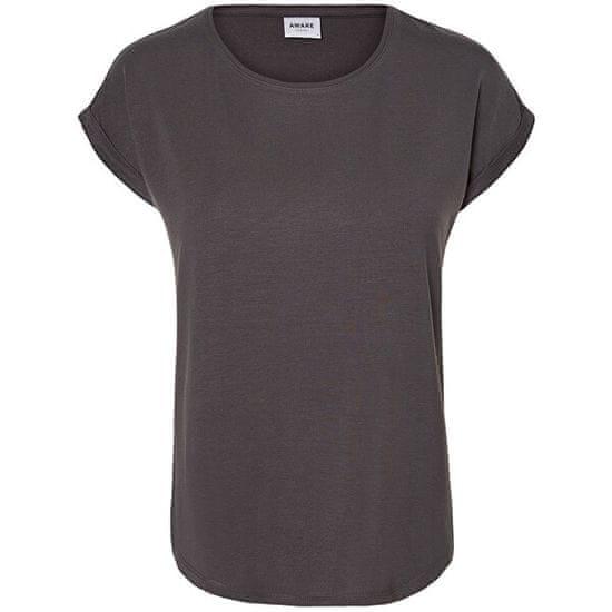 Vero Moda Ženska majica VMAVA 10187159 Asfalt