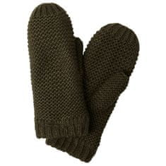 Pieces Dámske rukavice PCDACE WOOL MITTENS Forest Night