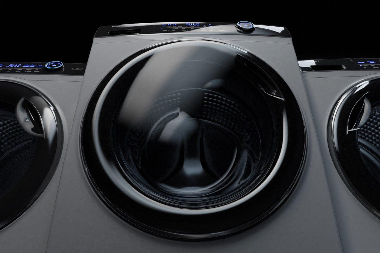 Sušička Haier HD100-A2979-S vnitřní osvětlení bubnu