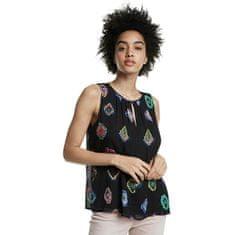 Desigual Ženska bluza Blus Julie Negro 20SWBW11 2000 (Velikost XS)