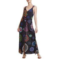 Desigual Ženska obleka Telovnik Fidži Negro 20SWMW34 2000 (Velikost S)
