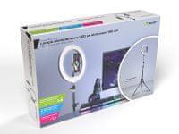 Tracer Tripod z LED krogom+ LED Ring Lamp držalo za telefon - Odprta embalaža