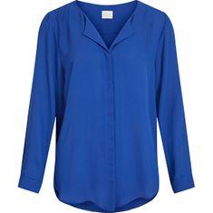 VILA Ženska majica VILUCY 14044253 Mazarine Blue (Velikost XS)