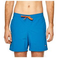 Tommy Hilfiger Męskie szorty kąpielowe Intense Blue Sf Medium Drawstring (Wielkość XL)