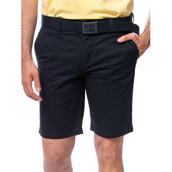 Heavy Tools Moške kratke hlače Wren navy E5S20427 NA