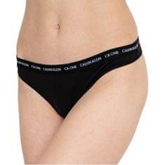 Calvin Klein Ženske hlačke CK One Thong QD3790E-001 (Velikost L)