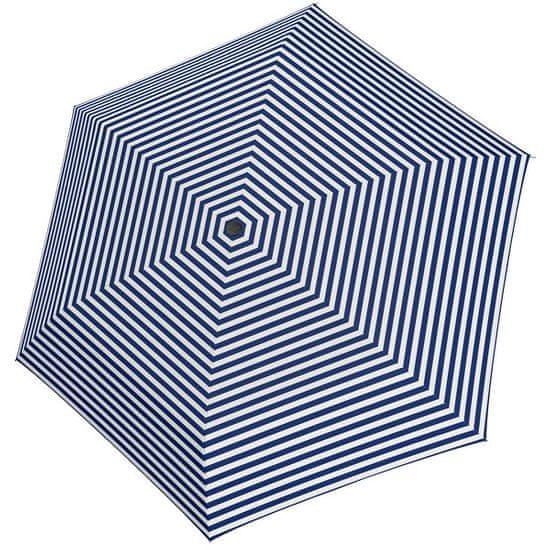 Tamaris Ženski zložljivi dežnik Tambrella Light Stripe blue