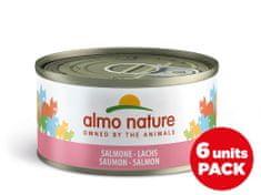 Almo Nature HFC Megapack Losos v želé 6x70 g