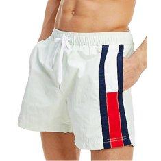 Tommy Hilfiger Moške plavalne kratke hlače Sf Medium Drawstring UM0UM01697 UM0UM01697 -LXW (Velikost S)