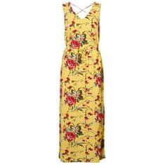 Vero Moda Dámske šaty VMSIMPLY EASY 10227830 Banana Cream TYRA (Veľkosť M)