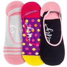 MEATFLY 3 PAKET - ženske nogavice Nizke nogavice S19 N / Pink
