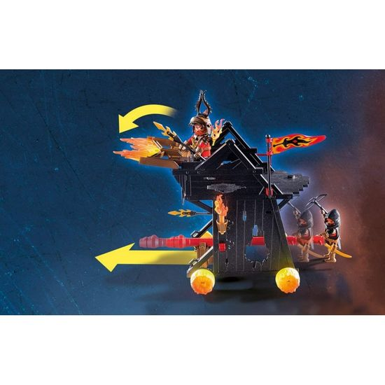Playmobil Burnham Raidersi in ognjeni oven (70393)