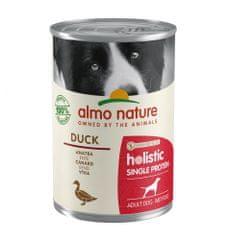 Almo Nature 100% single protein kachna 24x400 g