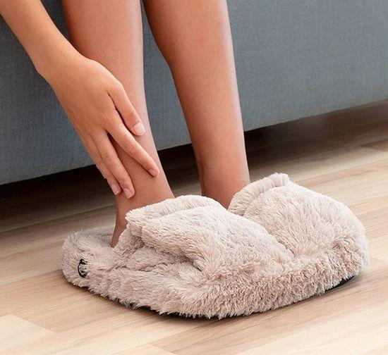 InnovaGoods aparat za masažo stopal, bež - Odprta embalaža1