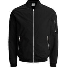 Jack&Jones Moška jakna JJERUSH 12165203 Black (Velikost XL)