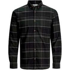 Jack&Jones JJECLASSIC moška majica 12172667 Olive Night (Velikost S)