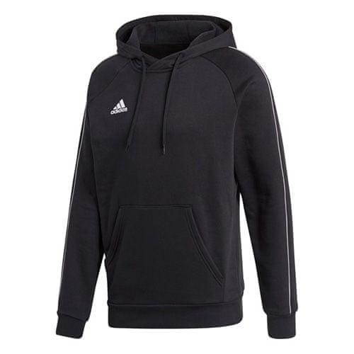Adidas CORE18 HOODY ČRNO / BELA | XL, SS18