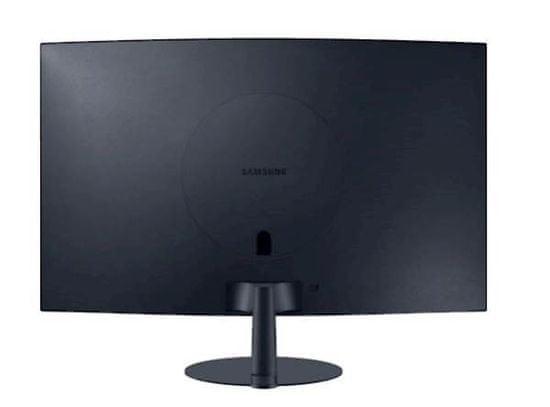 Samsung C24T550FDUXEN monitor, 59,69 cm (23,5),VA, ukrivljen 1000R, 16:9, 1920x1080, HDMI, DP, gaming - Odprta embalaža