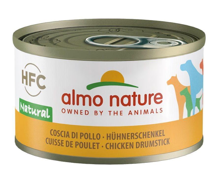 Almo Nature HFC DOG kuřecí stehna 24x95 g