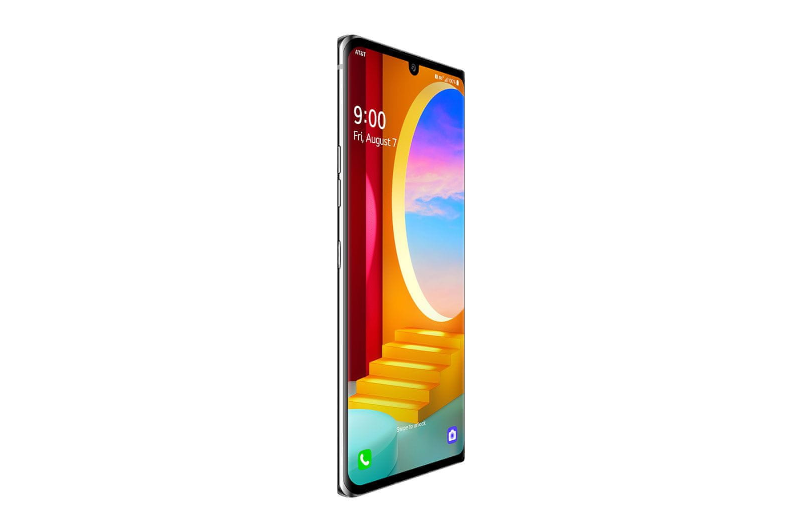LG Velvet pametni telefon, srebrn, OLED,LG 3D Sound Engine