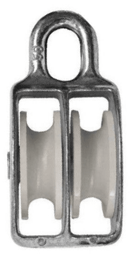 Mastrant  Double Pulley, Nylon: 10 mm